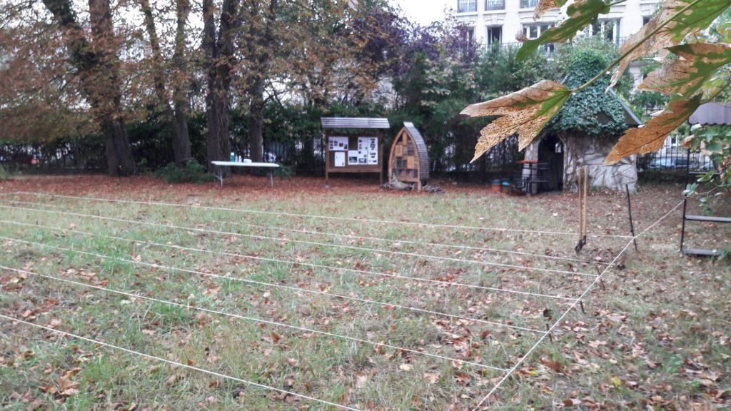 Jardin partagé de Saint Maurice - Les Semeurs du pont