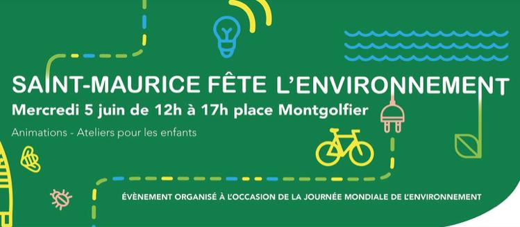 Les Semeurs sont à la Fête de l'environnement Saint Maurice 2019