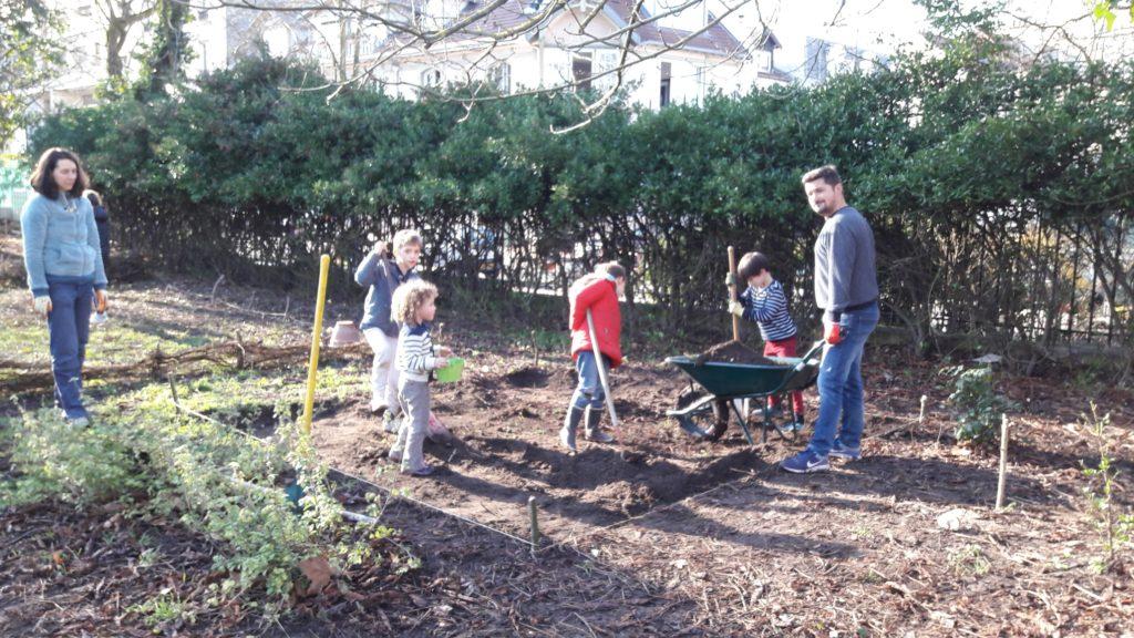 Le jardin ouvert malgré l'hiver - Semeurs du ponu