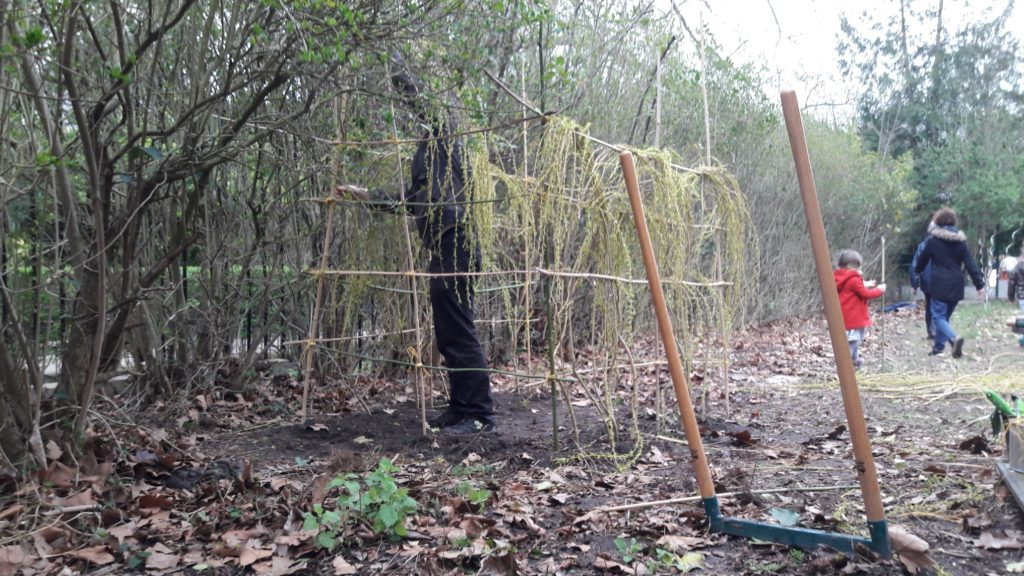 Le jardin du val d'osnes avant le confinement - Semeurs du pont